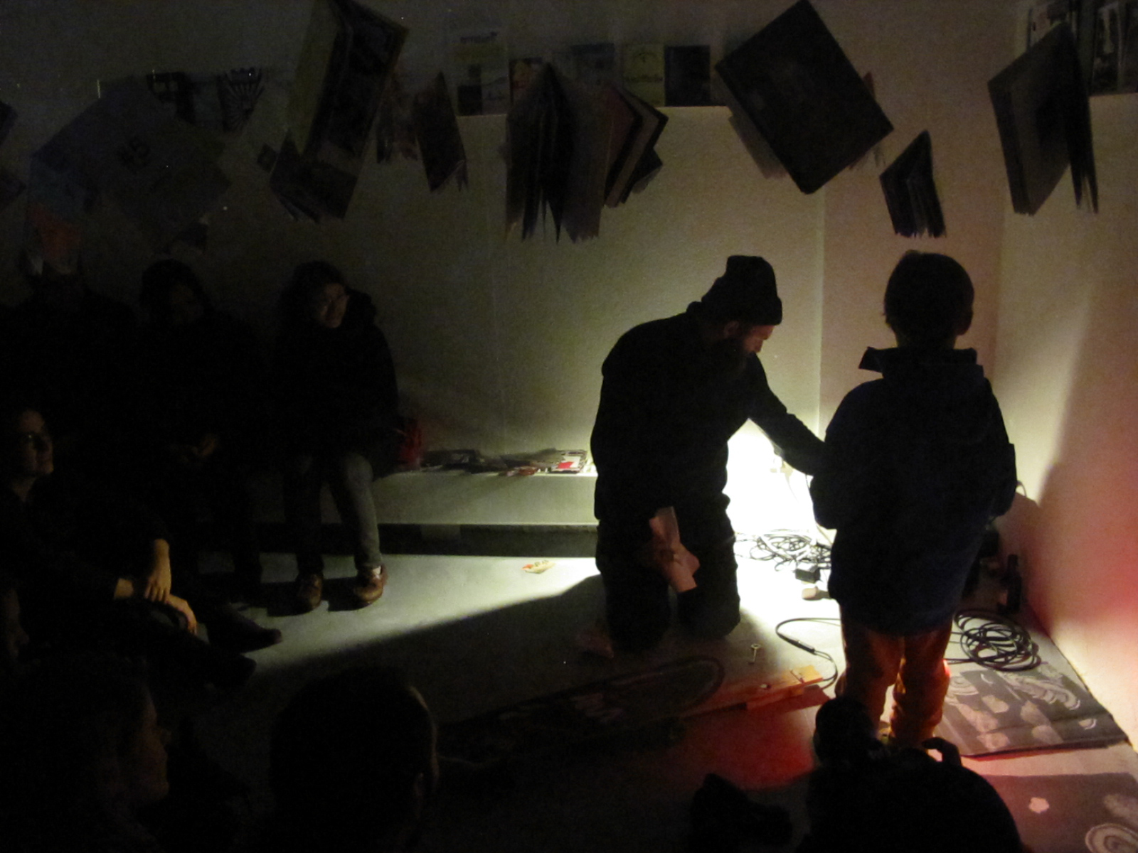 """#1"" fanzine and artist book exhibition / Opening: 1st March 2014 / Photo: Maycec"